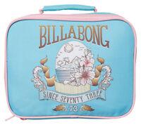 NEW + TAG BILLABONG ORIGINAL GIRL KIDS TEENS INSULATED LUNCH BOX BAG CASE COOLER
