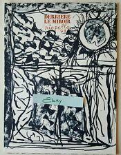 Derriere Le Miroir 232 Kean Paul Riopelle 1979 Aime Maeght Editeur Litho