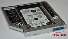 SATA 3 III 2nd HDD SSD Hard Drive Caddy Adapter for 12.7mm DVD-ROM Optical Bay