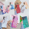 Matte Marble Silicone Soft Case Cover For Huawei P40 P30 P20 Pro Mate 30 20 Lite