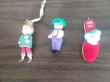 Hallmark SON - Set of 3 -1991,1998, 2000 Christmas Ornaments