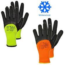 Arbeitshandschuhe Winterhandschuhe Latex Winter Thermo Handschuhe gefüttert 9-11