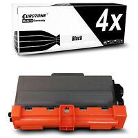 4x Eurotone Toner kompatibel für Brother HL-6180-DWT HL-5450-DN MFC-8515-DN