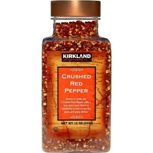 🔥 Kirkland Signature Crushed Red Pepper Finest Quality 10oz 🔥