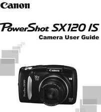 CANON POWERSHOT SX120 IS DIGITAL CAMERA QUICK START INSTRUCTION MANUAL -SPANISH