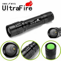 Ultrafire Tactical Flashlight Camping T6 LED 18650 Torch 20000lm Zoomable Lamp