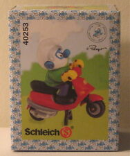 Schleich Smurf on Moped 40253 Brand New in Sealed Box