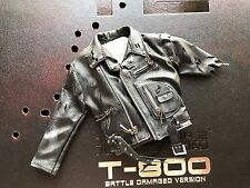 HOT TOYS DX13 TERMINATOR 2 JUDGMENT DAY T-800 1/6 DAMAGED Jacket