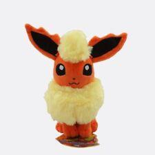 18CM Pokemon FLAREON Soft Plush Toy Doll Cute Baby Kids Gift New