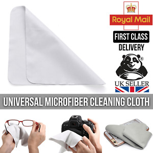 Microfiber Screen Cleaning Cloth Phone Camera Glasses Sunglasses Spectacles Lens