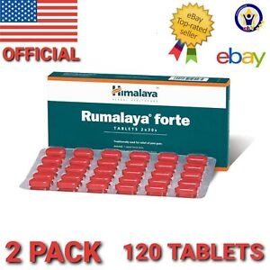 Himalaya RUMALAYA FORTE 2 pack 120 Tablets Treat joint pain , back pain relief