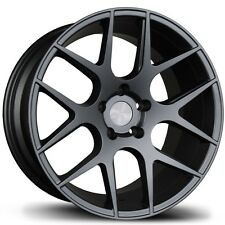 17X8/9 Avid.1 AV30 5x114.3 +35/30 GunMetal Rims Fits Lexus is250 is300 S2000