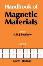 Handbook of Magnetic Materials: Handbook of Magnetic Materials Vol. 9 (1995,...