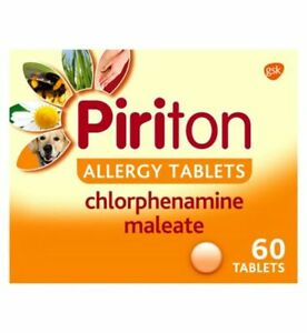 Piriton Allergy Tablets – 30 Tablets and 60 Tablets