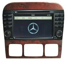 Autoradio / dvd / gps / bluetooth / navi / Ipod Mercedes Benz S / Classe CL w220 / w215 hl-8800