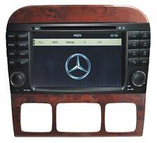 AUTORADIO/DVD/GPS/BLUETOOTH/NAVI/IPOD MERCEDES BENZ S/CL-CLASS W220/W215 HL-8800