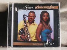 MICHAEL BROWN + AFRIKA - SOMETHING NICE CD NEAR MINT 2004 3DIMENSION RECORDS