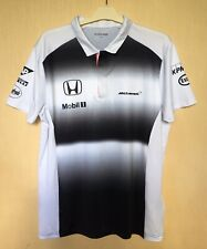 MCLAREN HONDA  F1 RACING SIZE M MEN POLO JERSEY TRIKOT SHIRT OFFICIAL PRODUCT