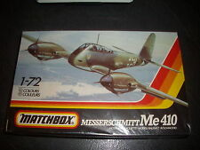 MATCHBOX  MESSERSCHMITT ME 410  PLASTIC MODEL 1/72