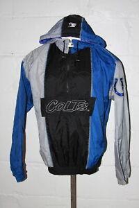 VTG Starter Indianapolis Colts Pullover Light Weight Jacket Sz M Medium