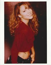 CAREY MARIAH CAREY ALL I WANT FOR autographed 8X10 photo GOLDENAGE ESSENTIALS