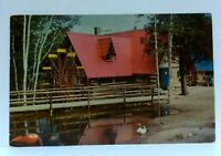North Pole Wilmington New York Santas Water Wheel Workshop Postcard