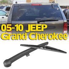 Rear Back Window Windshield Wiper Blade+Arm For  05-10 JEEP Grand Cherokee CT