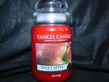 Yankee Candle large jar Sweet Apple