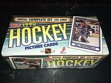 1990-91 Topps Hockey Factory Set Complete 1-396 NM/MT