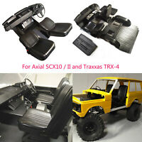 1/10 Scale Interior Set for Classic Range Rover Hard Body TRX-4 Axial SCX10 / II