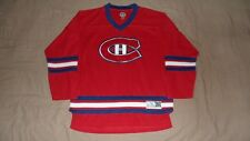 Montreal Canadiens Red NHL Men's Size Large/XL NHL Hockey Jersey
