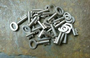 Antique  Trunk Key Eagle Lock Company No. 12K17  Ealge Lock Co Trunk Key 12K17