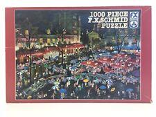 1000 Piece Fx Schmid Puzzle Montmartre Night - 1996 Alexander Chen