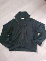 Zara Trafaluc Tracksuit Jacket Size Small Black