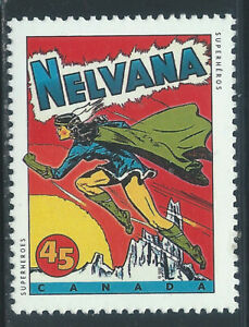 Canada #1581(1) 1995 45 cent NELVANA DRAWING BY ADRIAN DINGLE MNH CV$1.50