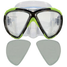 Promate Hawk Eyes Scuba Dive Mask Prescription +2.75 Magnifier Reader Bifocal