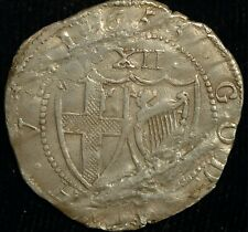 More details for shilling 1653 commonweath hammered oliver cromwell s3217 (t55)