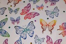 50 10x13 Butterflies Designer Mailer Poly Shipping Envelopes