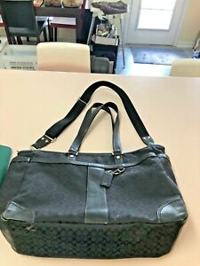 Coach Diaper Bag J1193-F77156, Multi Use Tote, Signature Fabric