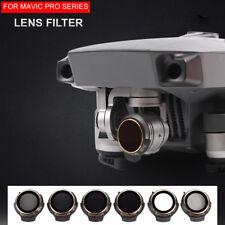 Caméra cardan filtre HD ND4/8/16/32 Cpl UV pour dji Mavic Pro/platine drone