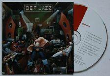 Def Jazz Adv Cardcover CD Verve Jeff Lorber Roy Hargrove