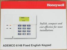 Honeywell Ademco 6148 Fixed English LCD Keypad Intrusion Alarm System Bklit