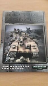 Warhammer Imperial Armour 1 background book excellent condition