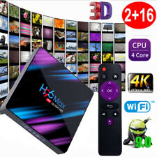 H96 Max Smart TV Android 9.0 Box RK3318 Quad Core 64 Bits 4K 2Go/16Go L6S7