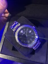 Versace Watch 5ATM Water Resistant Medusa Watch Greek Pattern Versus Luxury Item
