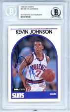 Kevin Johnson Autographed 1989-90 Hoops Rookie Card #35 Suns Beckett 10739140