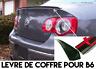LIP SPOILER ALERON MALETERO PORTON TRONCO para VW PASSAT 05-10 B6 TDI FSI V6 R36