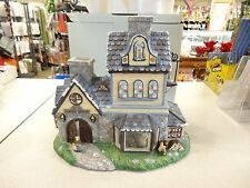 Partylite Candle Shoppe Tealight Holder House Village P7315 Original Box