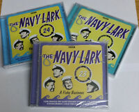 THE NAVY LARK 3 AUDIO CD'S - A FISHY BUSINESS YOU'RE ROTTEN DOING A DISASTRICAL