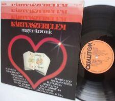 MAGYAR SANZONOK Hungarian LP Qualiton Stereo SLPM 16652 Excellent vinyl cond.